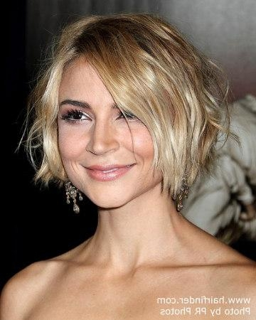 Samaire Armstrong | Short And Tousled Hairstyle, Colored For A Within Tousled Short Hairstyles (View 8 of 20)
