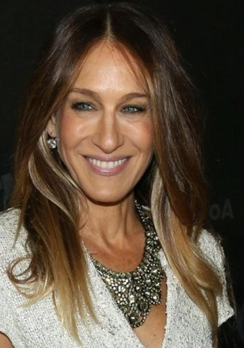 Sarah Jessica Parker Long Hairstyle: Casual Straight Hair – Pretty Pertaining To Sarah Jessica Parker Short Hairstyles (View 16 of 20)