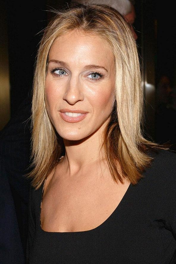 Sarah Jessica Parker With Short Blonde Hair – Hair World Magazine Regarding Sarah Jessica Parker Short Hairstyles (View 18 of 20)