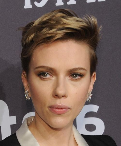 Scarlett Johansson Hairstyles For 2018 | Celebrity Hairstyles Pertaining To Scarlett Johansson Short Haircuts (View 12 of 20)