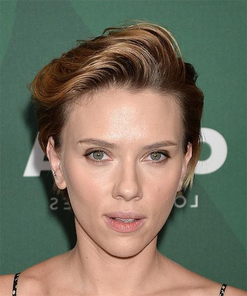 Scarlett Johansson Hairstyles For 2018 | Celebrity Hairstyles Pertaining To Scarlett Johansson Short Hairstyles (View 10 of 20)