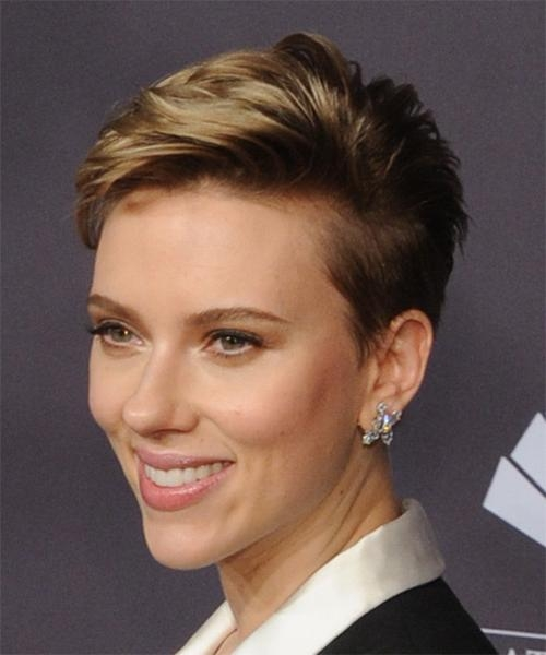 Scarlett Johansson Hairstyles For 2018 | Celebrity Hairstyles With Regard To Scarlett Johansson Short Haircuts (View 13 of 20)