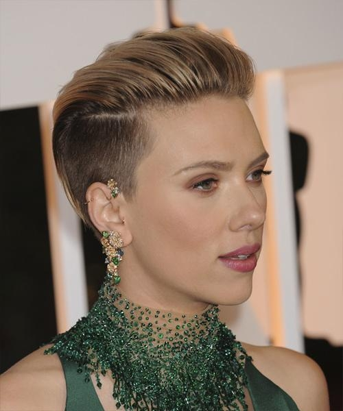 Scarlett Johansson Hairstyles For 2018 | Celebrity Hairstyles With Regard To Scarlett Johansson Short Hairstyles (View 2 of 20)