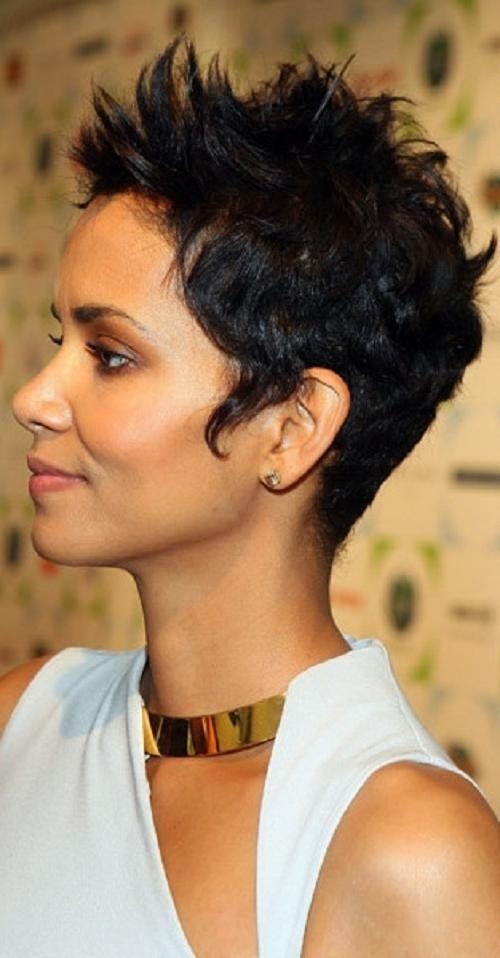 Sexy Short Hairstyles For African American Women Over 40 | Popular For Short Haircuts For African American Women With Round Faces (View 15 of 20)