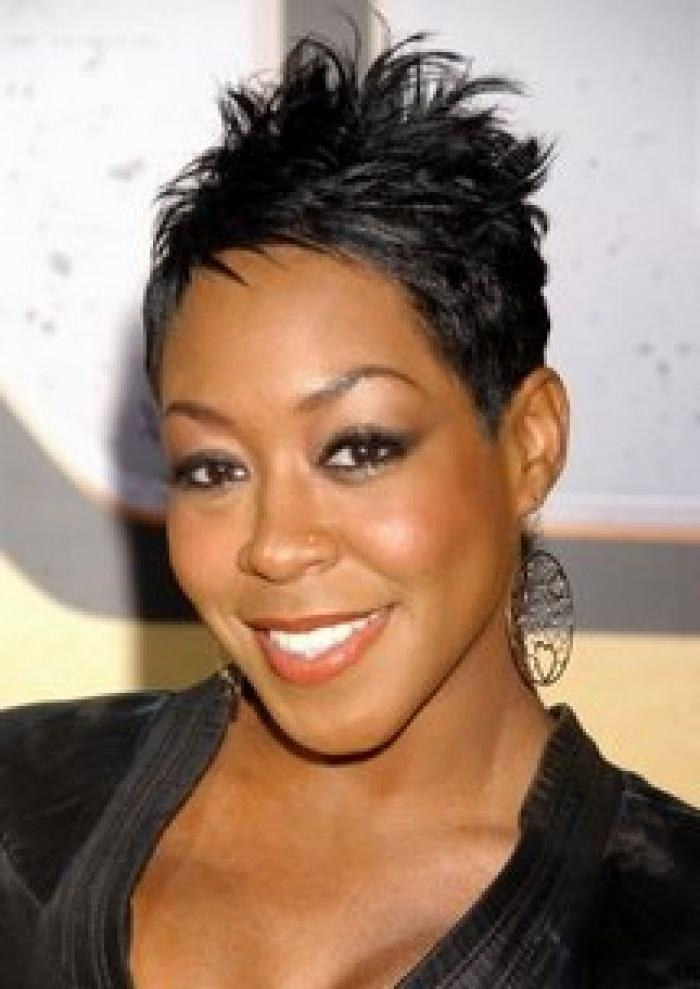 Sexy Short Hairstyles For Black Women 18 – Black Hairstyles 2014 With Sexy Black Short Hairstyles (View 10 of 20)