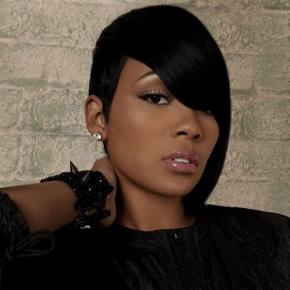 Sexy Short Hairstyles For Black Women  18 – Short Haircuts For Regarding Sexy Black Short Hairstyles (View 18 of 20)