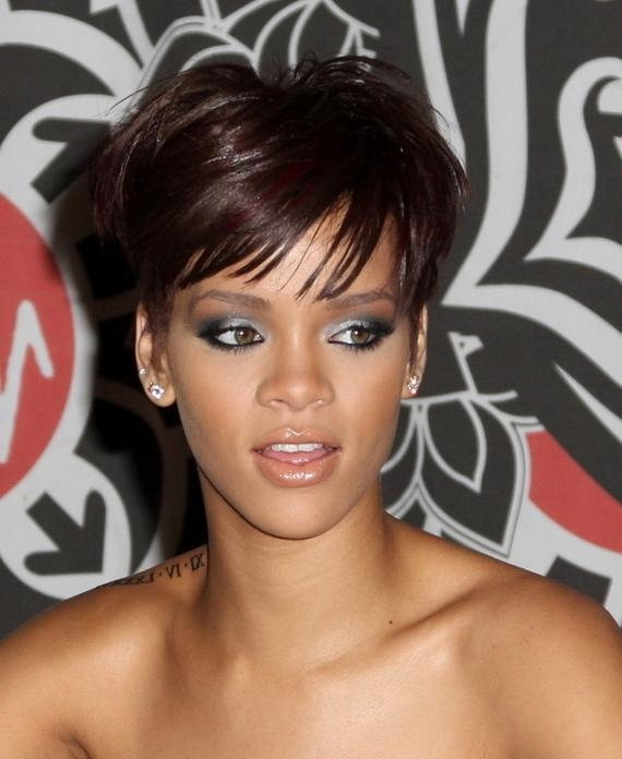 Sexy Short Hairstyles For Black Women   Hair Style And Color For Woman With Sexy Black Short Hairstyles (View 9 of 20)