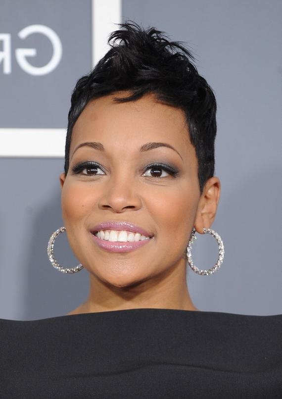 Sexy Short Hairstyles For Black Women With Sexy Black Short Hairstyles (View 17 of 20)