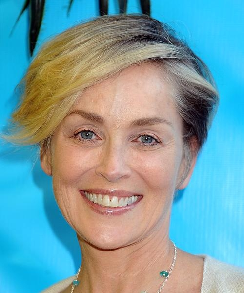 Sharon Stone Hairstyles For 2018 | Celebrity Hairstyles Within Sharon Stone Short Haircuts (View 6 of 20)