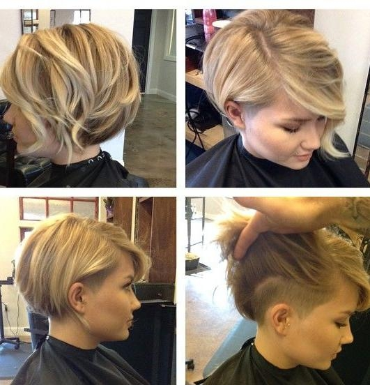 Shaved Side Pretty Short Haircuts For Women | Full Dose Regarding Short Hairstyles With Shaved Sides For Women (View 15 of 20)