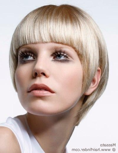 Short 1960S Haircut With A Wide Fringe And Graduated Contour For 1960S Short Hairstyles (View 16 of 20)