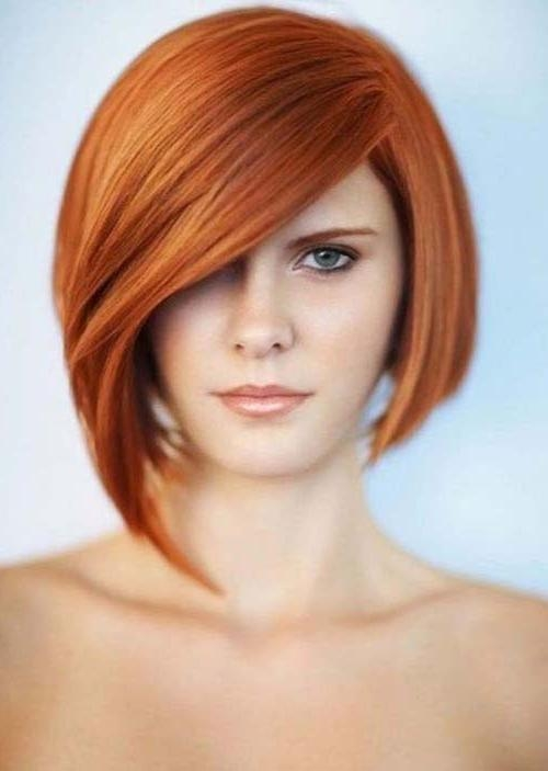Short Bob Strawberry Blonde Hairstyles – Hair World Magazine In Strawberry Blonde Short Hairstyles (View 18 of 20)