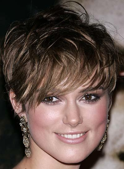 Short, Brunette Hairstyles For Square Faces – Beauty Riot With Regard To Keira Knightley Short Haircuts (View 20 of 20)