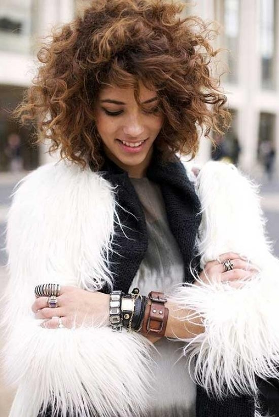 Short Curly Hair Carrie Bradshaw Hair Style With The Incredible Regarding Carrie Bradshaw Short Hairstyles (View 15 of 20)