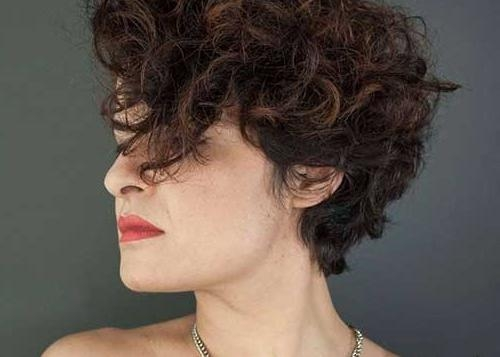 Featured Photo of Short Haircuts With Curly Hair