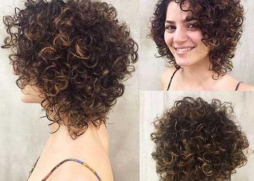 Short Curly Haircuts | Short Hairstyles 2016 – 2017 | Most Popular Regarding Short Haircuts For Very Curly Hair (View 15 of 20)