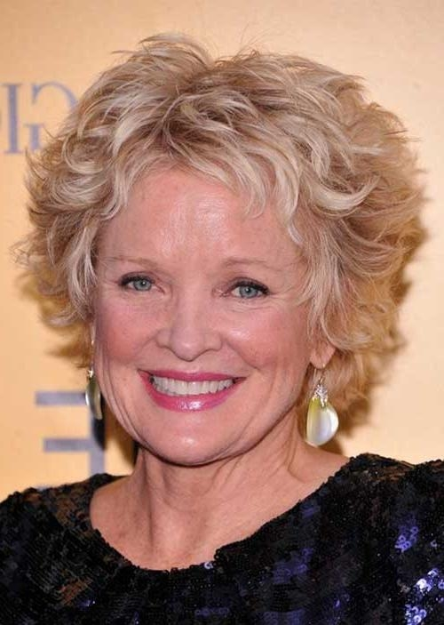 Featured Photo of Short Haircuts For Older Women With Curly Hair