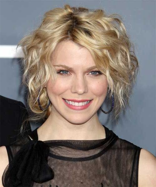 Featured Photo of Short Hairstyles For Thin Curly Hair