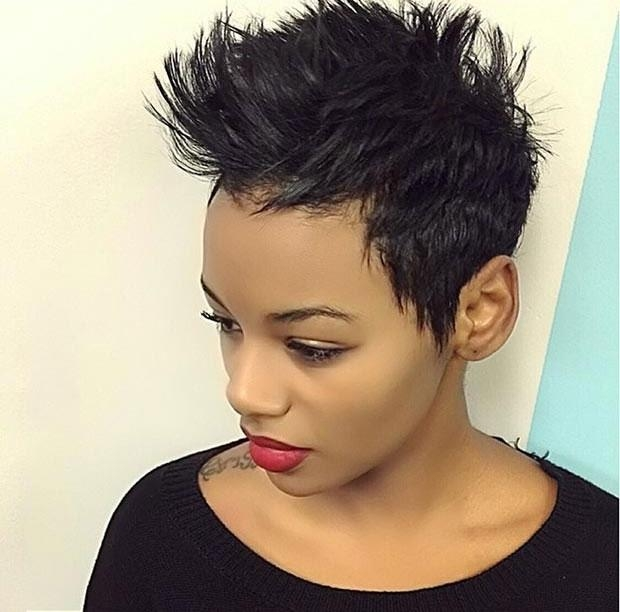 Short Edgy Haircuts For Black Women Mens Hairstyles The Best Hair For Edgy Short Haircuts For Black Women (View 19 of 20)