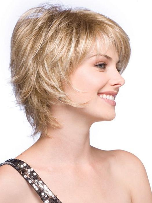 Short, Face Flattering Bob With Feathered Layers And Wispy Ends With Wispy Short Haircuts (View 14 of 20)
