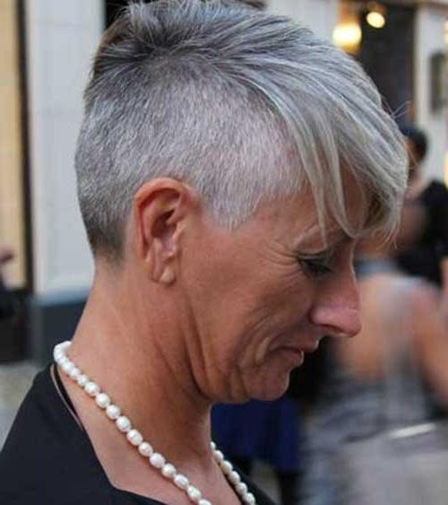 Short Grey Hair Pics | Short Hairstyles 2016 – 2017 | Most Popular In Short Haircuts For Grey Hair (View 17 of 20)