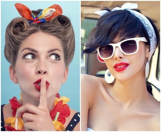 Short Hair And Bandana – Short Hair Fashions Throughout Short Hairstyles With Bandanas (View 10 of 20)