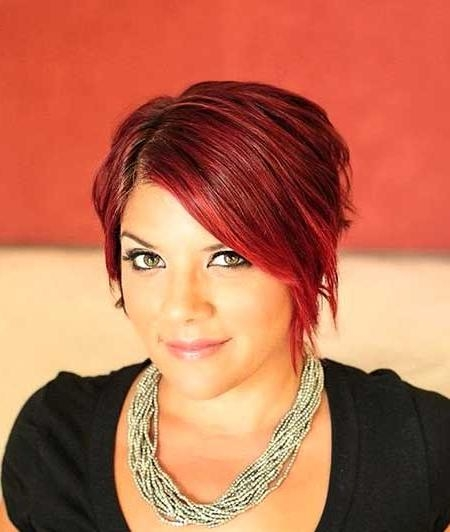 Short Hair Color Ideas 2014 – 2015 | Short Hairstyles 2016 – 2017 In Short Haircuts With Red Color (View 12 of 20)