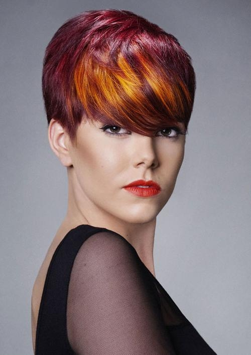 Short Hair Color Red | Short Hairstyles Pertaining To Short Haircuts With Red Color (View 6 of 20)