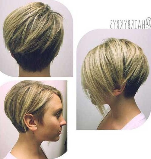 Short Hair Ideas For Round Face | Short Hairstyles 2016 – 2017 Inside Short Haircuts For Fat Face (View 4 of 20)