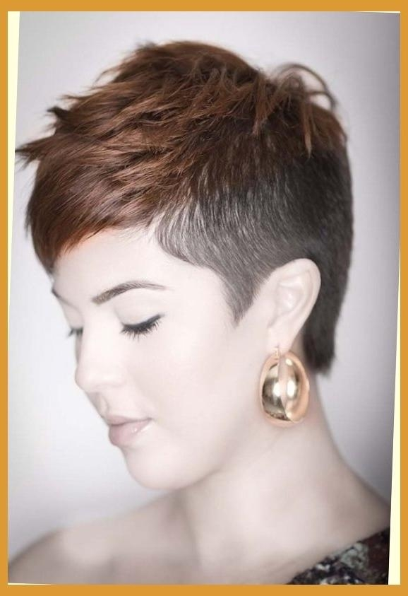 Short Hair Ideas On Pinterest | Shaved Sides, Undercut And Pixie Regarding Short Hairstyles With Both Sides Shaved (View 20 of 20)