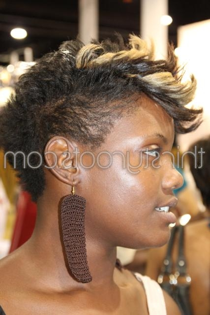Featured Photo of Short Haircuts For Black Women With Fine Hair
