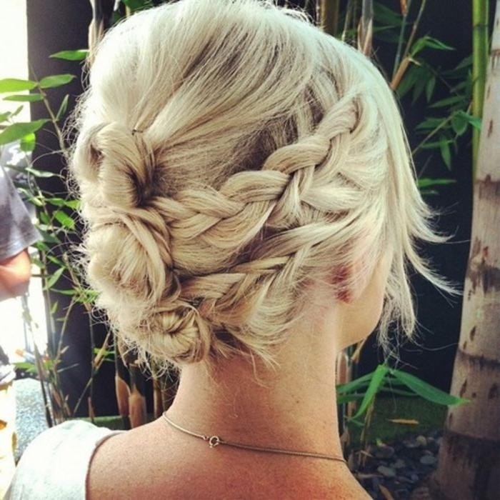 Short Hair Updos: 30 Easy And Stylish Updos For Short Hair Within Updo Short Hairstyles (View 17 of 20)