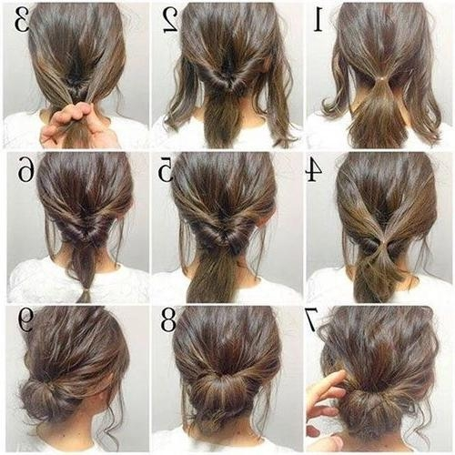 Short Hair Updos, How To Style Bobs, Lobs Tutorials Within Updo Short Hairstyles (View 16 of 20)