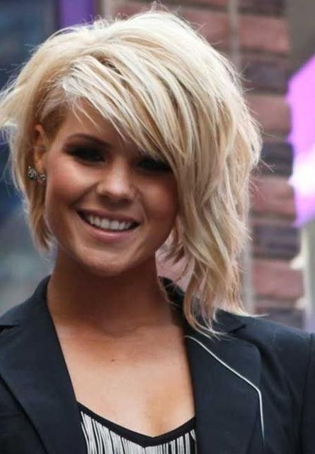 Short Hair With Side Bangs 2014 – Fashionable Short Hairstyles Inside Short Haircuts With Side Bangs (View 15 of 20)