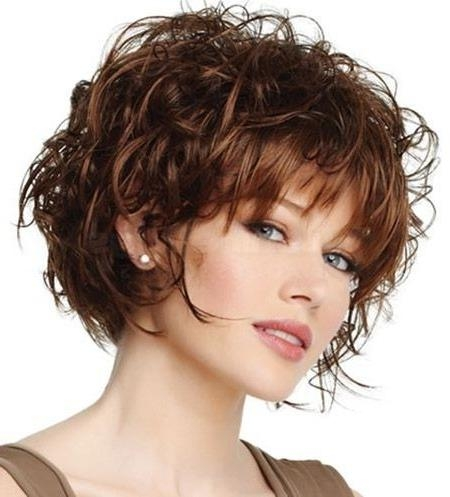 Short Haircut Styles : Short Haircuts For Thick Curly Hair The Regarding Short Haircuts For Thick Curly Frizzy Hair (Gallery 3 of 20)
