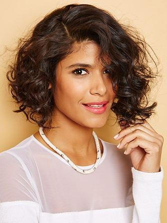 Short Haircuts Curly Hair – Styling Tips Intended For Short Haircuts For Wavy Frizzy Hair (View 14 of 20)