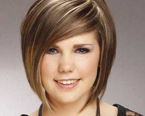 Short Haircuts For Chubby Faces | Short Hairstyles 2016 – 2017 Regarding Short Hairstyles For Big Cheeks (View 19 of 20)