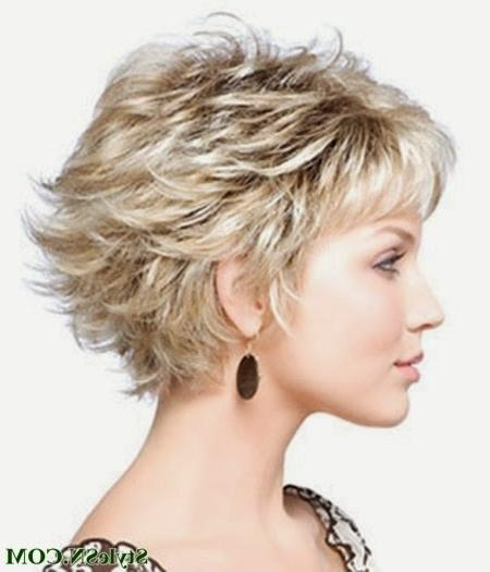 Short Haircuts For Curly Hair And Round Faces – Trendy Hairstyles With Regard To Short Haircuts For Curly Hair And Round Face (View 16 of 20)
