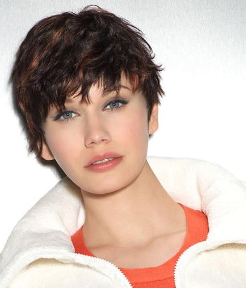 Short Haircuts For Round Faces – 29 Super Cute Short Haircuts For Pertaining To Edgy Short Hairstyles For Round Faces (View 16 of 20)