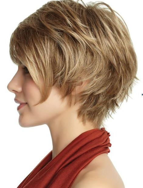 Short Haircuts For Thick Wavy Hair – Hairstyles Hoster Intended For Short Haircuts That Cover Your Ears (View 7 of 20)
