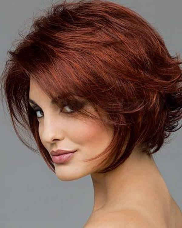 Photo Gallery Of Short Hairstyles For Round Face And Fine Hair