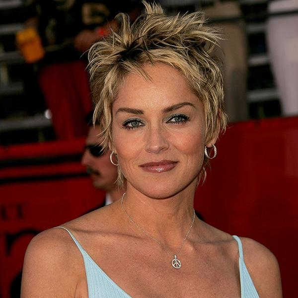 Short Haircuts Sharon Stone | Short Hairstyles Intended For Sharon Stone Short Haircuts (View 17 of 20)