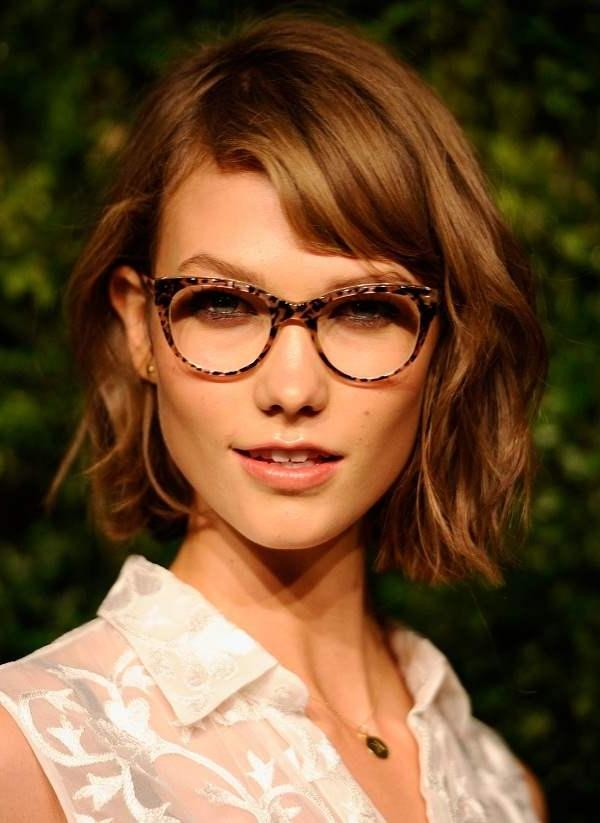 Short Haircuts Women With Glasses | My Hairstyles Site Intended For Short Haircuts For Glasses (View 8 of 20)