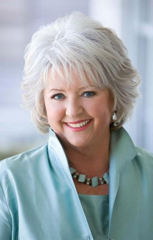 Short Hairstyle For Mature Women Over 60 From Paula Deen Inside Mature Short Hairstyles (View 18 of 20)
