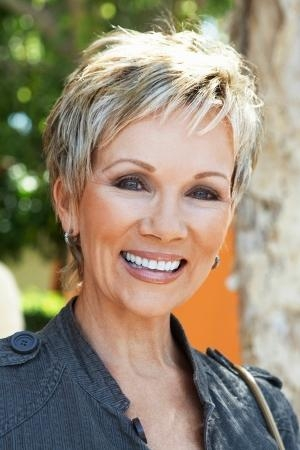 Short Hairstyle For Women Over 50 – Hairstyle For Women Throughout Short Haircuts With Wispy Bangs (View 12 of 20)