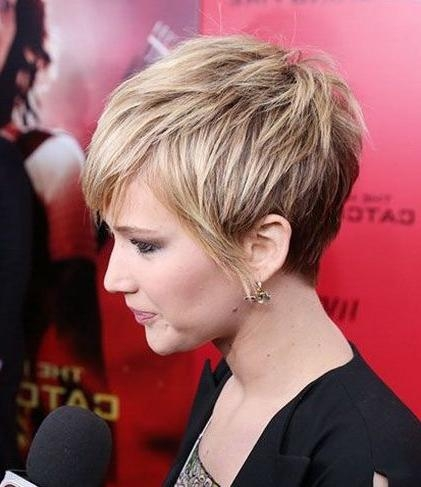 Short Hairstyles And Cuts | Beautiful Female Celebrities With Within Short Haircuts For Celebrities (View 16 of 20)
