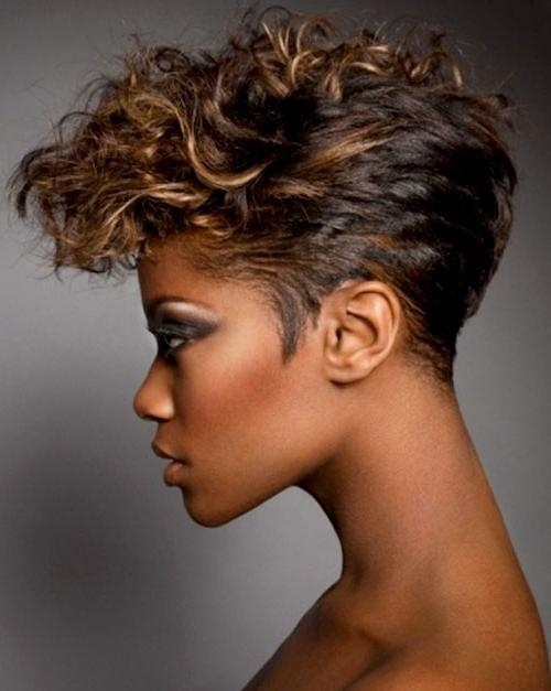 Short Hairstyles And Cuts | Black Women With Short Edgy Hair Throughout Edgy Short Haircuts For Black Women (View 20 of 20)