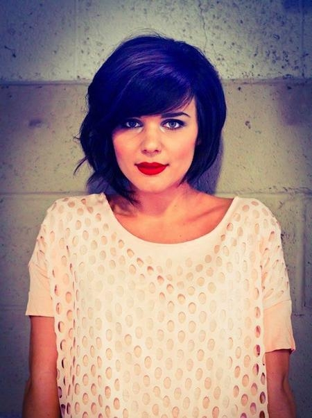 Short Hairstyles And Cuts | Chin Length Bob With Big Bangs Within Short Hairstyles With Big Bangs (View 18 of 20)