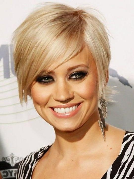 Short Hairstyles And Cuts | Cute Short Haircuts For 2014 With Side With Short Haircuts With Side Bangs (View 16 of 20)