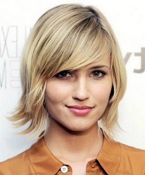 Short Hairstyles And Cuts | Cutest Short Haircuts For 2014 With Regarding Short Haircuts With Side Fringe (View 19 of 20)
